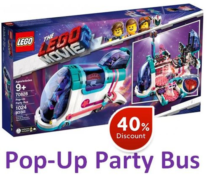 LEGO Movie 2. Pop-up-Party Bus (70828)