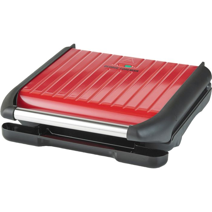 George Foreman 7 Portion Health Grill - Red