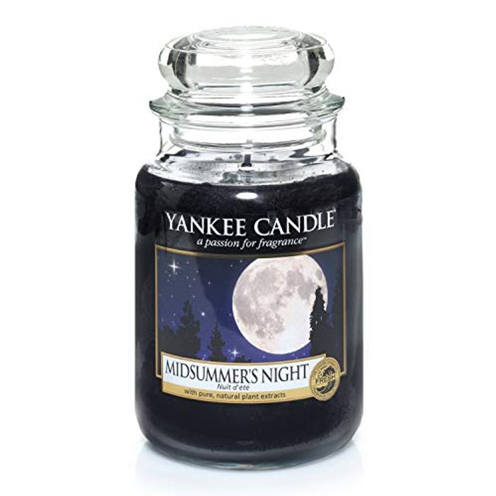 Yankee Candle Large Jar Scented Candle, Midsummers Night