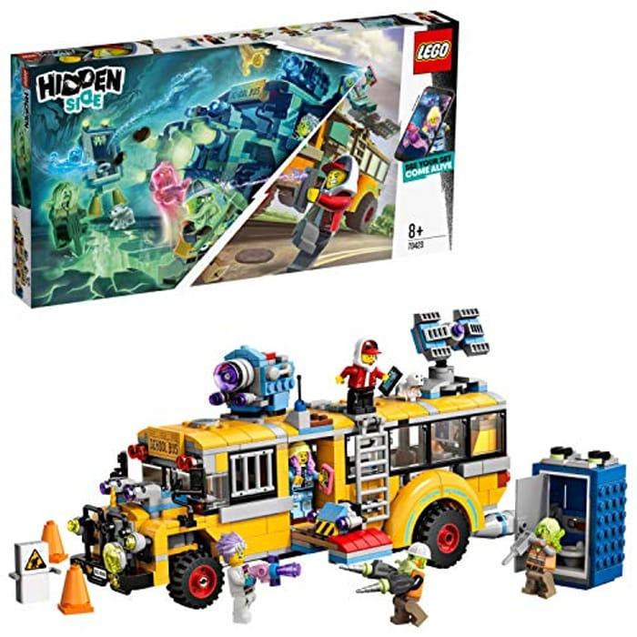 SAVE £15 at AMAZON - LEGO Hidden Side - Paranormal Intercept Bus (70423)
