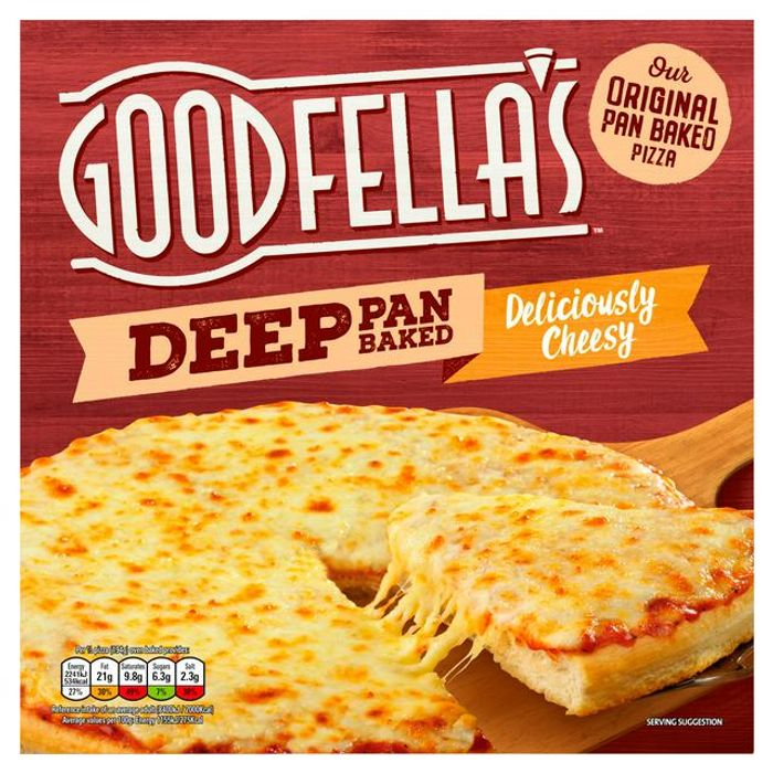 Goodfella's Deep Pan Baked Loaded Cheese Pizza 417g save £1