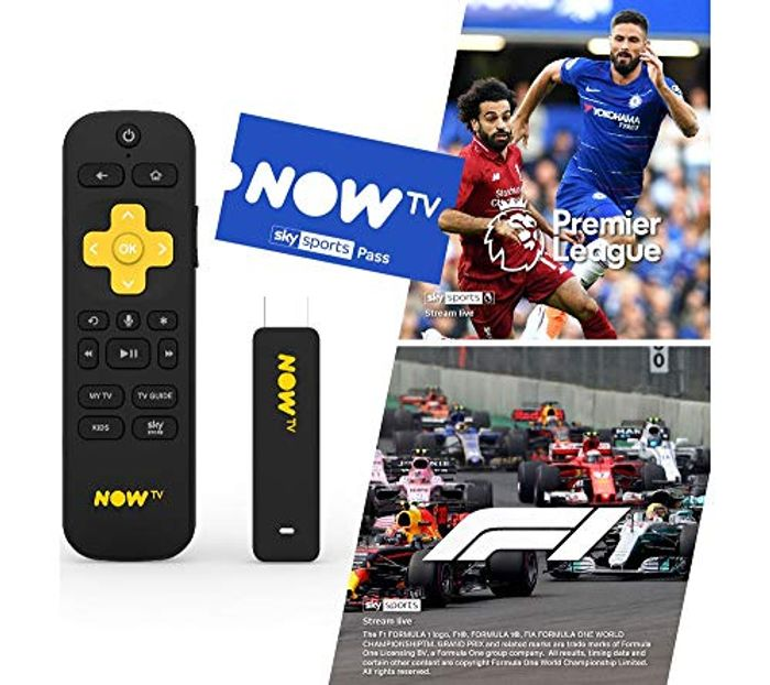 Now Tv Smart Stick with 3 Month Sky Sports