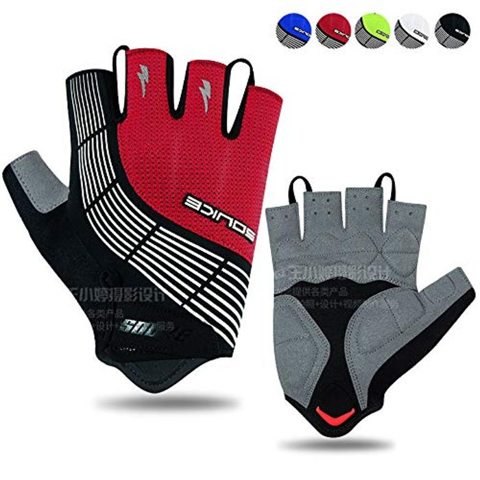 50% off Fingerless Cycling Gloves