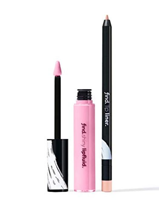 FIND - Lip Kit - Snow Touch (Lip Liner & Shiny Lip Fluid )