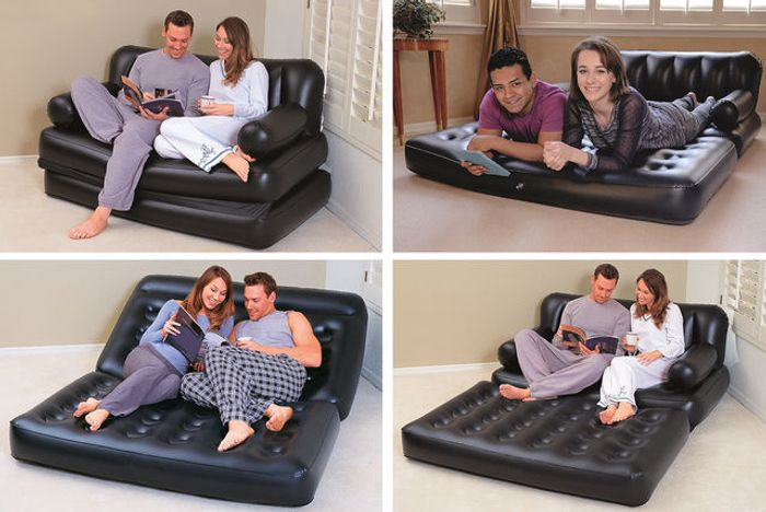 Multi-Function Inflatable Sofa & Air Bed