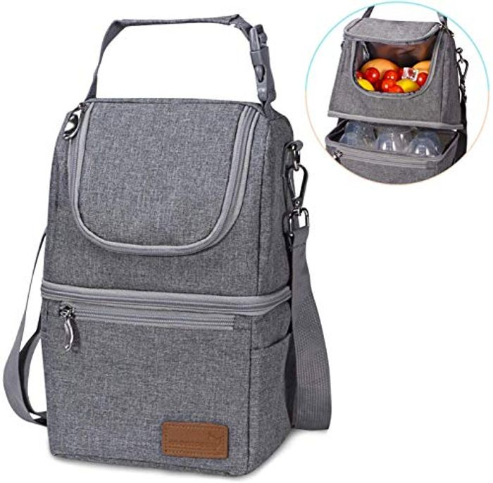 50% off Double Decker Lunch Bag for Adults