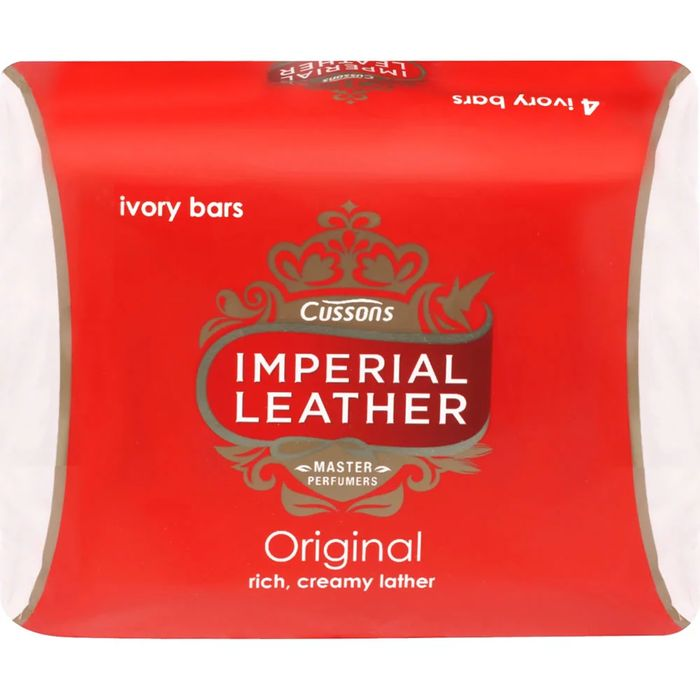 Imperial Leather Ivory Bar Soap 100g 4 Pack