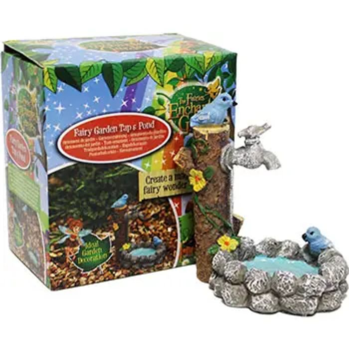 Fairy Tap and Pond Garden Decoration