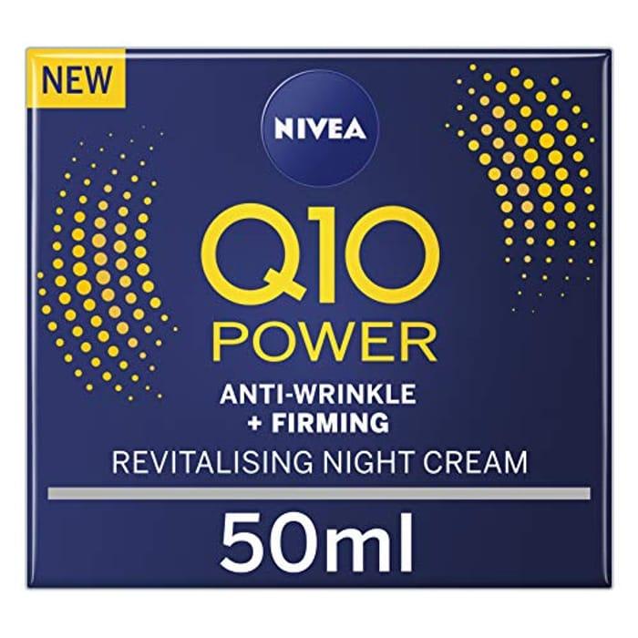 NIVEA Q10 Power Anti-Wrinkle + Firming Night Cream