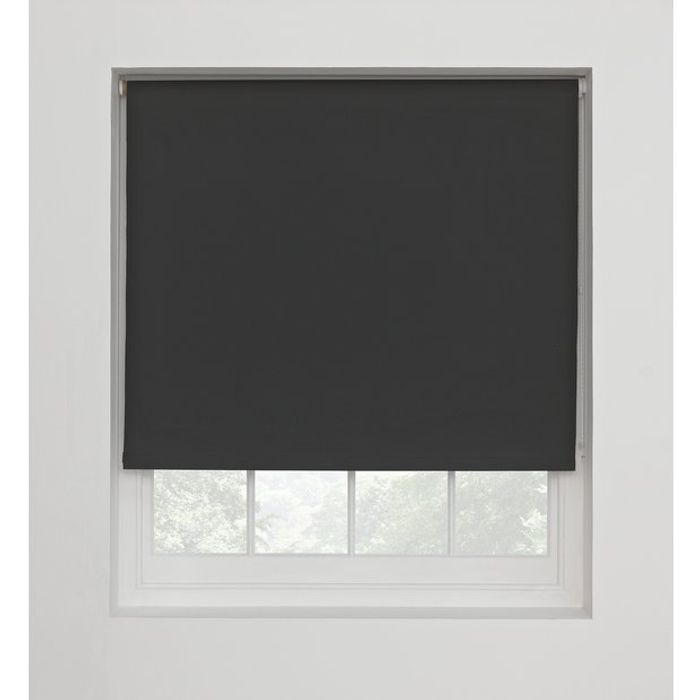 Argos Home Blackout Roller Blind - 3ft - Jet Black