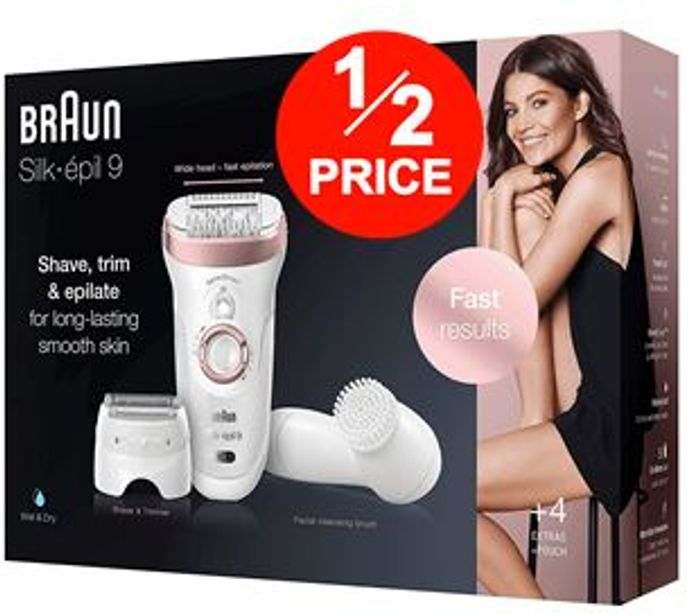 Best Price! Braun Silk-epil 9-880, Epilator for Long-Lasting Hair Removal