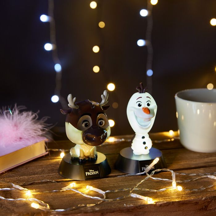 Frozen Icon Lights - Sven or Olaf Down From £12.99 to £5.85
