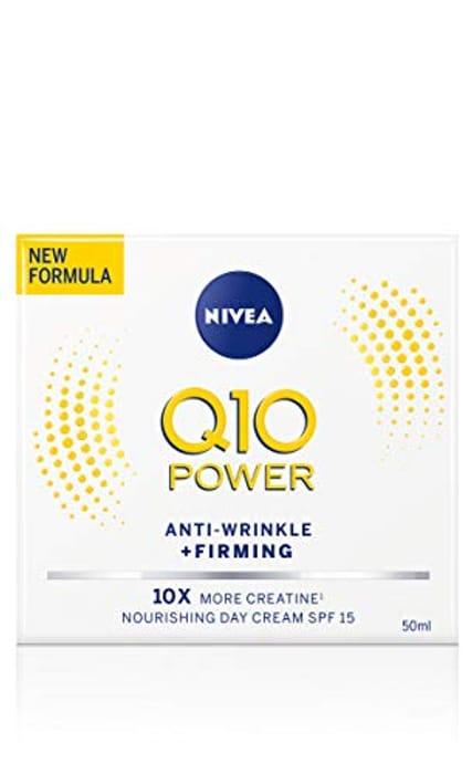 NIVEA Q10 Power Anti-Wrinkle + Firming Day Cream SPF15 (50ml)
