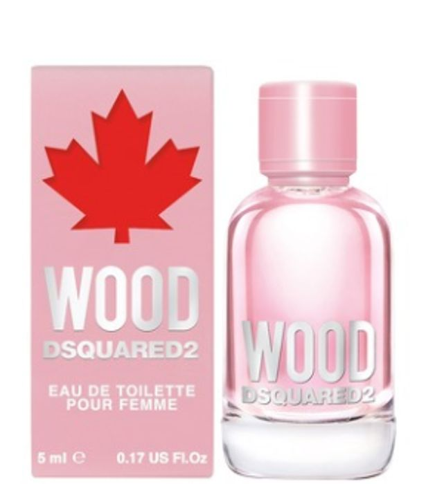 Free Dsquared2 Wood Pour Femme EDT Splash 5ml with Wood Perfume Orders