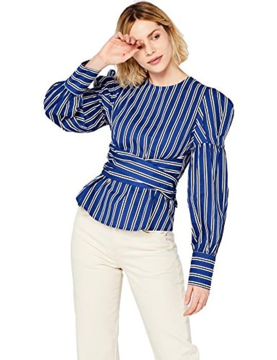 Find. Women's Tie Front Blouse