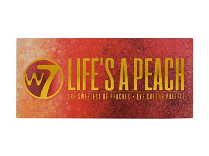 W7 Lifes a Peach 12 Piece Eye Colour Palette - Free Prime Delivery