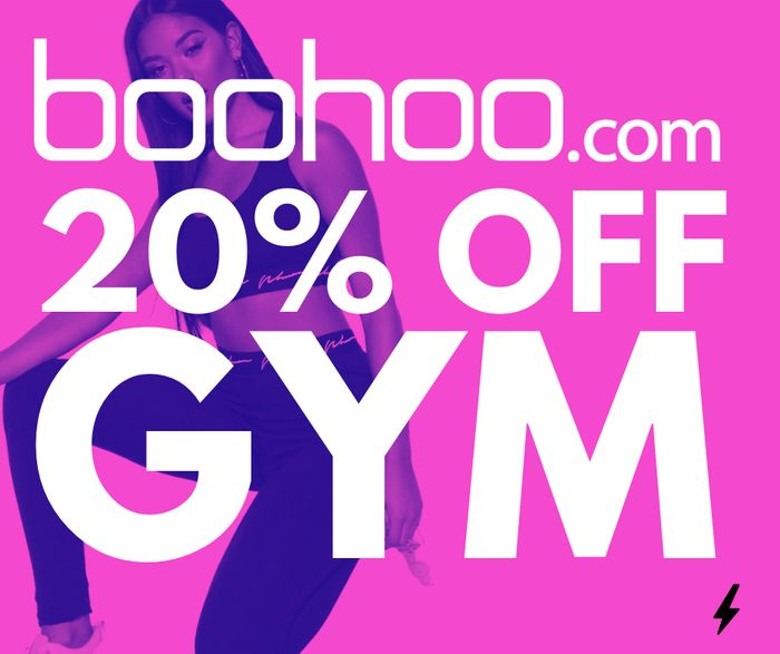 Gym Clothes 20% off Everything at Boohoo