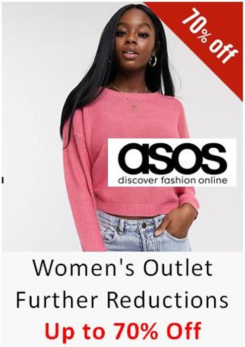 ASOS Women's Outlet - Further Reductions - Up to 70% OFF