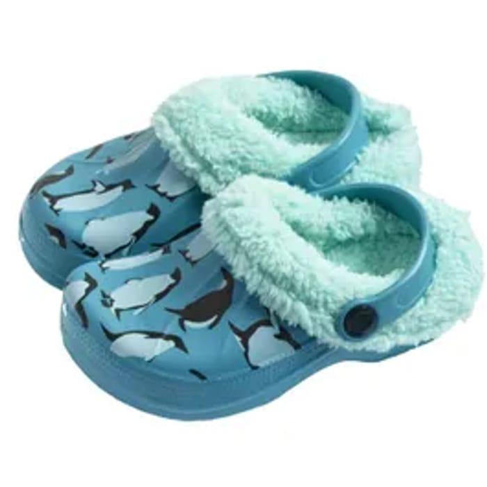 Briers Kids Unisex Penguin Clogs Sizes 4-5 + 6-7 + 8-9 ONLY £2