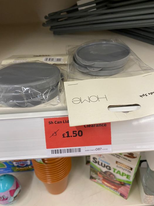 3pc Can Lids - Half Price