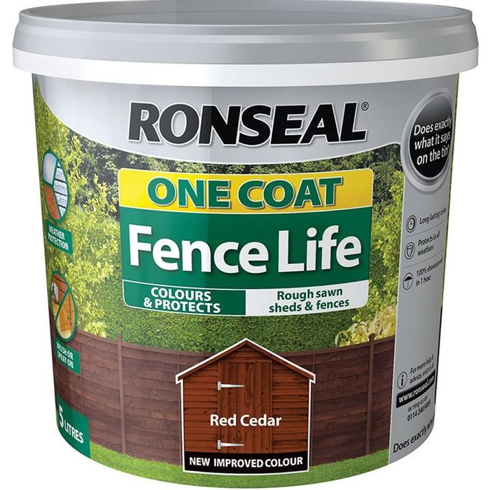 Ronseal Fence Paint Reduced at Wilko!