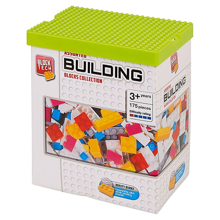 Block Tech Assorted Building Blocks Collection