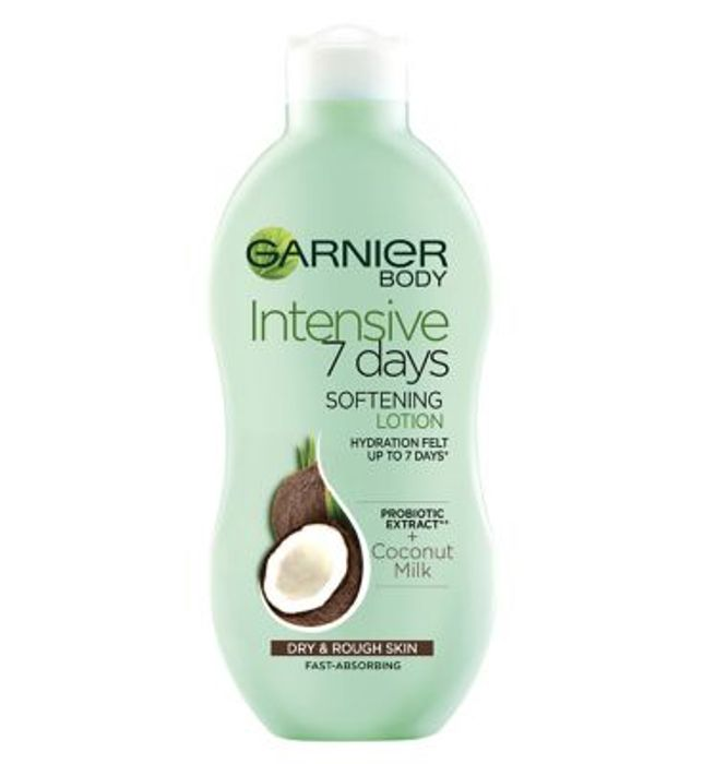 Garnier Body 7 Day Coconut Milk Body Lotion HALF PRICE at BOOTS