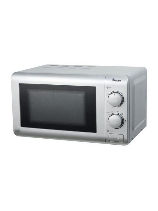 *SAVE £10* Swan Essential 20-Litre Microwave - Silver