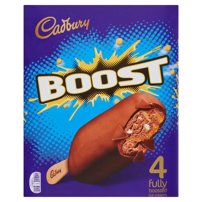 Cadbury Boost Ice Cream Stick 4 X 80Ml