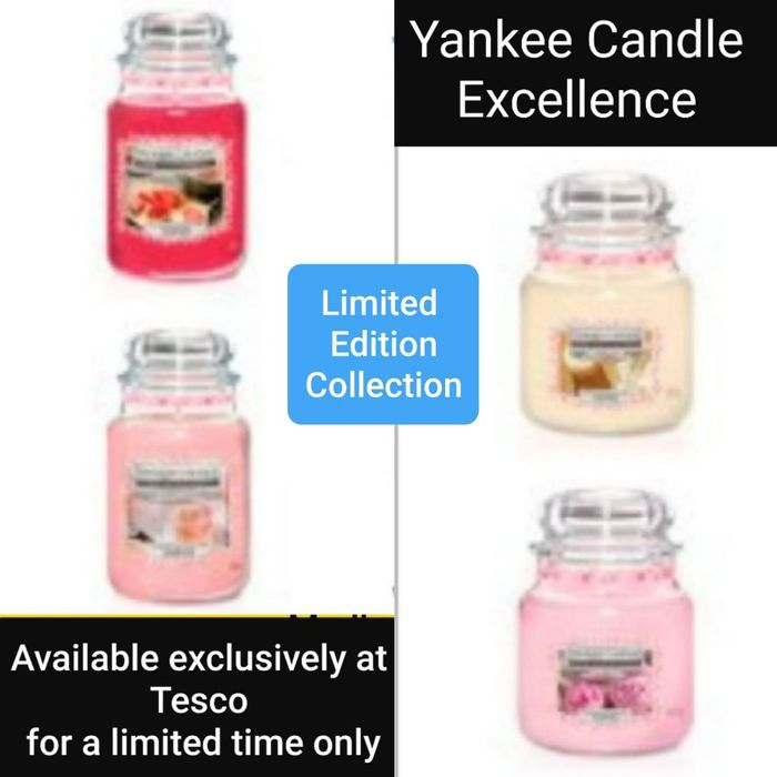 Yankee Candle Excellence Jars.