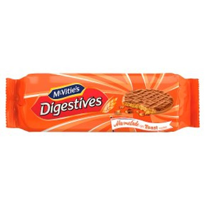 McVitie's Digestives Marmalade on Toast Flavour 250g (2 for £2)