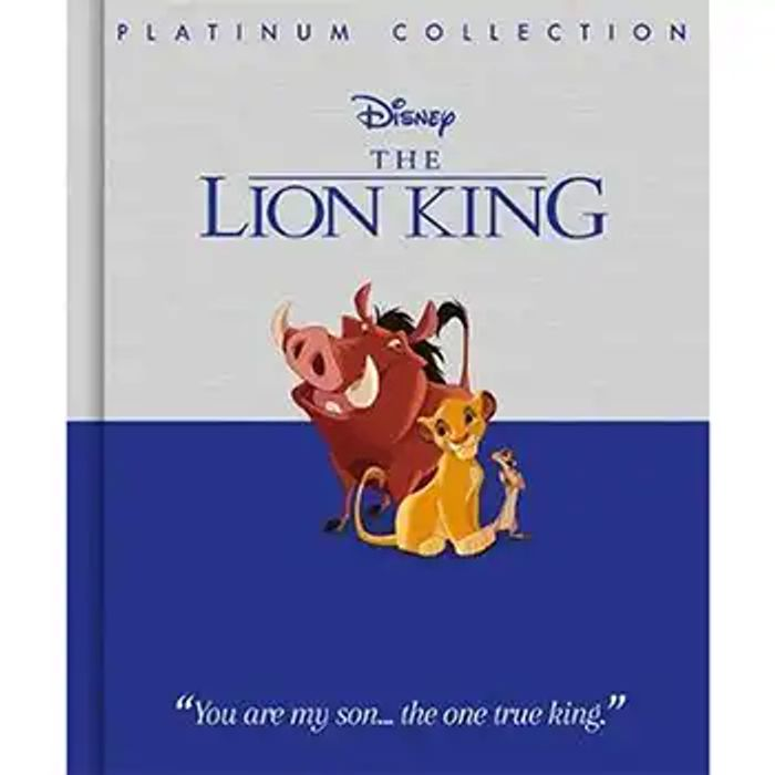 Cheap Disney the Lion King Platinum Collection Only £3