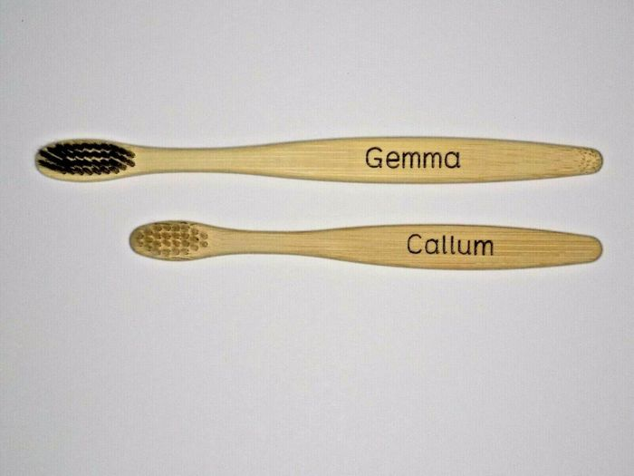 Personalised Bamboo Toothbrush