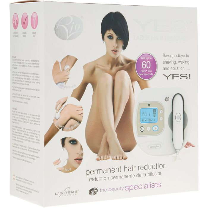 *SAVE £220* RIO BEAUTY White Laser Hair Remover