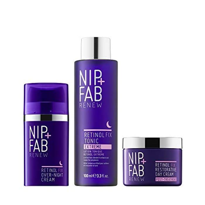 Save £47 on Nip+Fab Retinol Fix Bundle