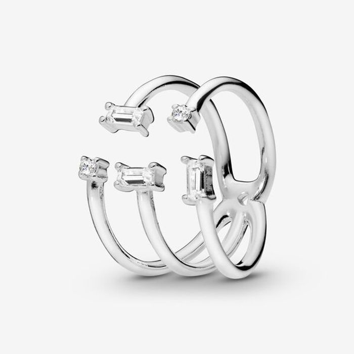 Open Ice Cube Ring Down To £25 at Pandora