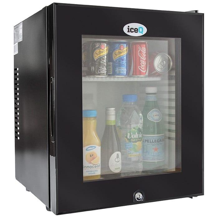 iceQ 24 Litre Silent Glass Door Mini Bar