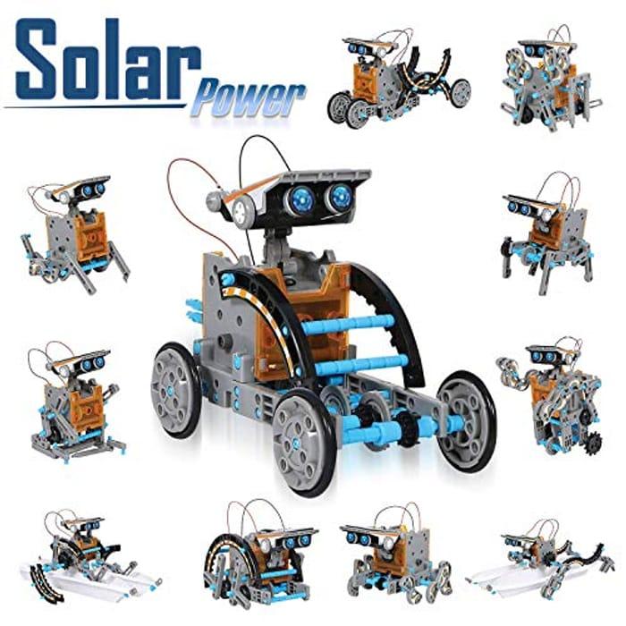CIRO Stem 12 in 1 Solar Robot Toys