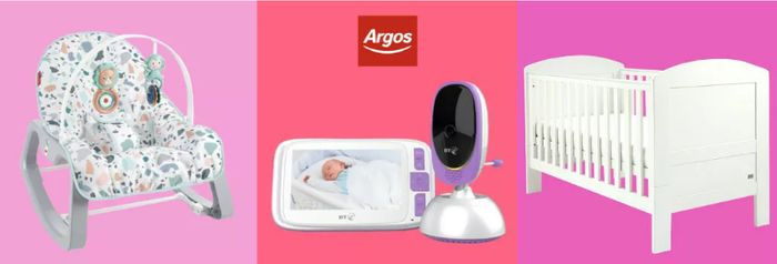 Argos - Baby & Toddler Event Up To 1/2 Price Nursery, Toys & More