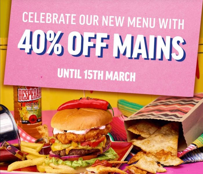 40% off Mains at Hungry Horse