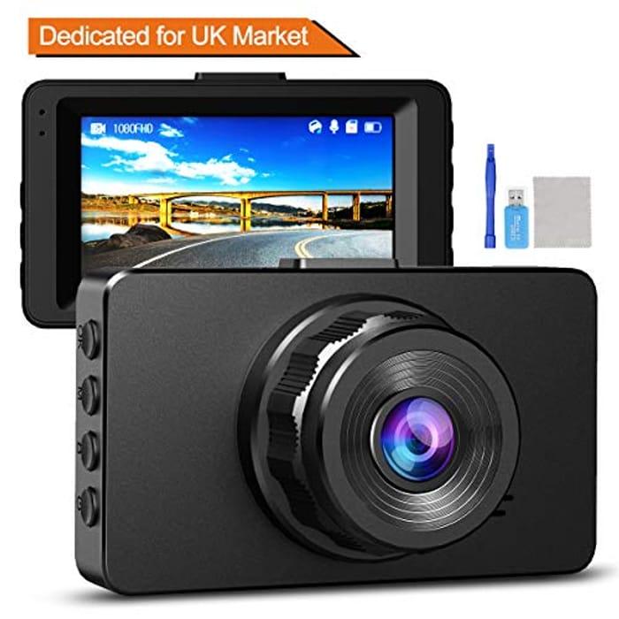 Deal Stack - 1080p Full HD Dash Cam Just £8.64 Delivered!
