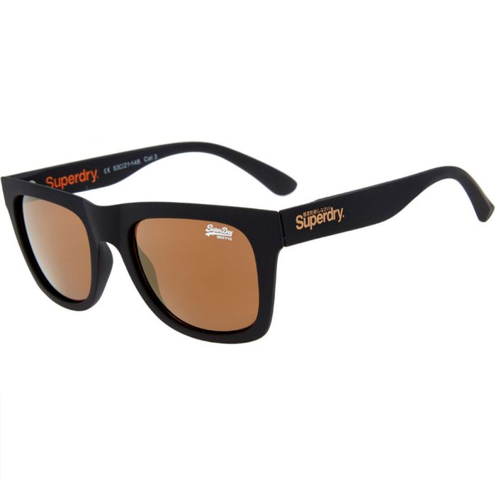 60% off Superdry Black Preppy Sunglasses