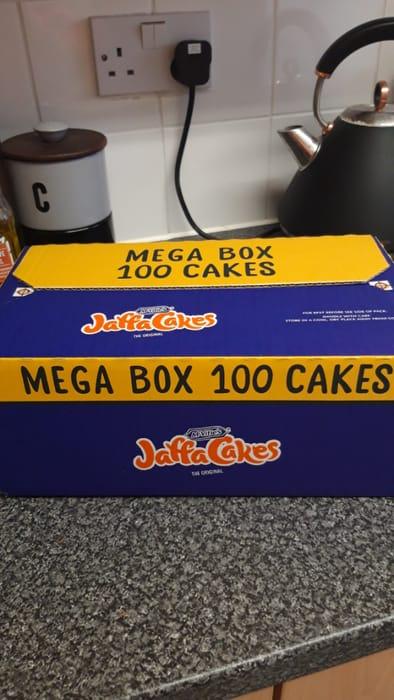 Box of 100 Jaffa Cakes at Asda