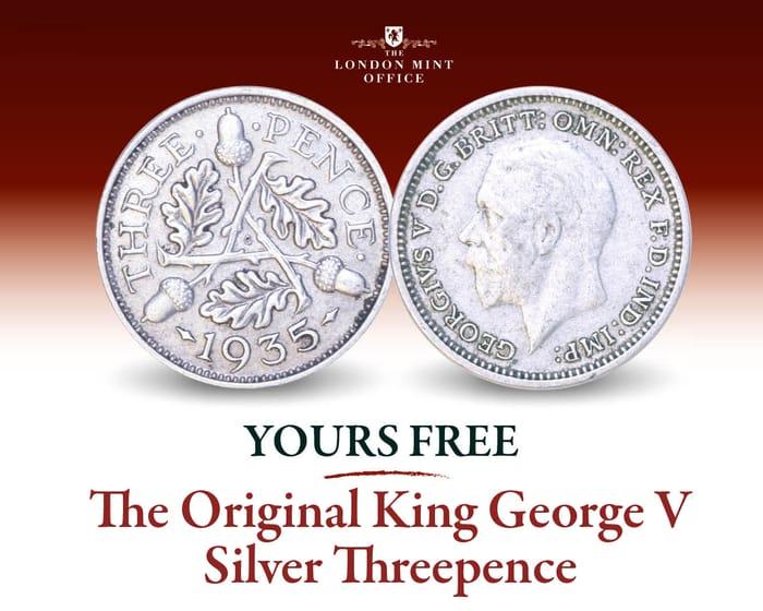 Free King George v Silver Threepence
