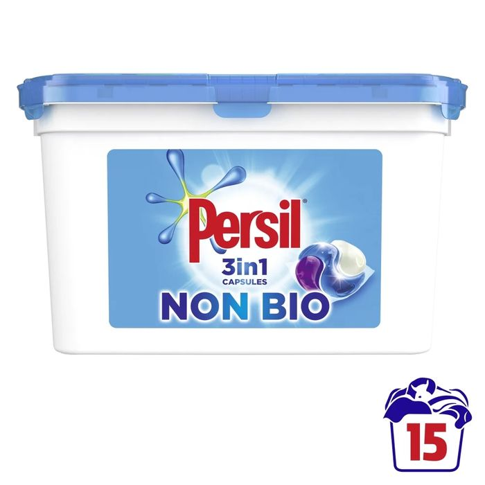 Persil Non Bio 3 in 1 Capsules, Only £3.00!