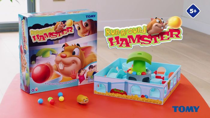 Best Ever Price! TOMY Hamster Race - Family Skill Game