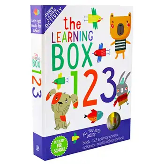 The Learning Box 123 - 77% Off