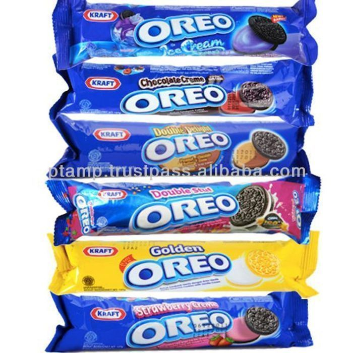 Oreo Vanilla Original Sandwich Biscuits 154g and Other Flavours