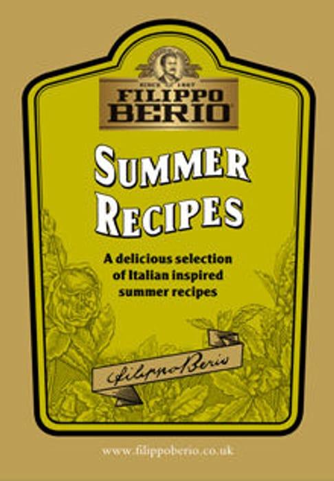 Free Filippo Berio Recipe Books.