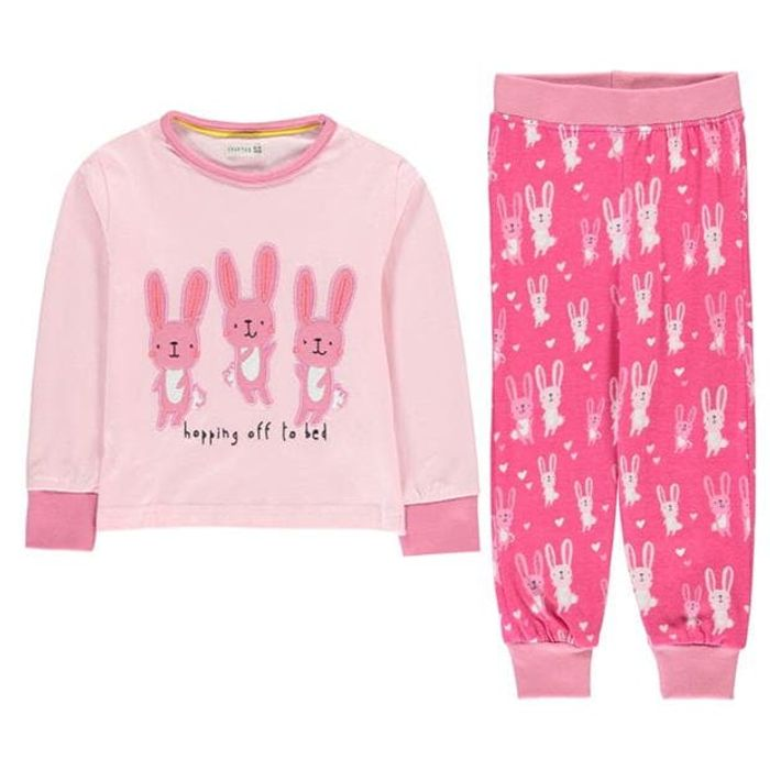 CRAFTED ESSENTIALS Design Pyjamas Infants save £6